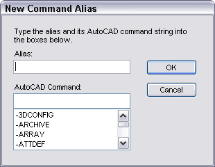 acadblog tutorial create command alias keyboard shortcut