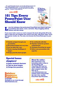 101 Tips Every PowerPoint User Should Know