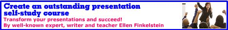 Create an Outstanding Presentation Self-Study Course