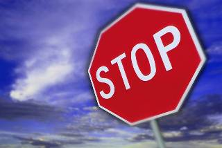 colors stop sign