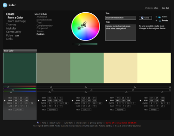 RGB colors stats for PowerPoint color schemes/theme colors