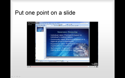 YouTube in PowerPoint