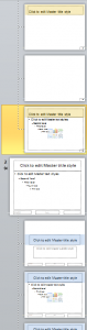 Creating a slide master–or two–in PowerPoint