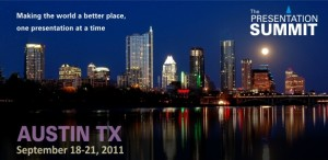 Will you be at the Presentation Summit conference?