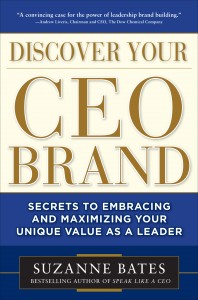 Book Review: Discover Your CEO Brand, by Suzanne Bates