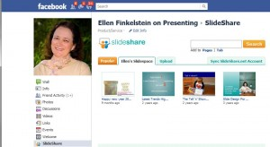 Put your SlideShare presentations on your Facebook profile and page