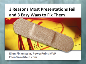 Discover 3 reasons most presentations fail and 3 easy ways to fix them