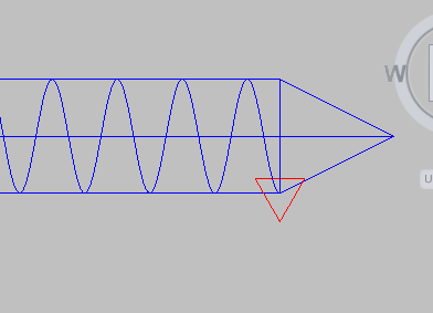 how to draw ventilation in autocad