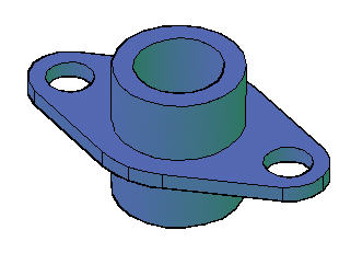 tutorial convert a 3d solid to a 3 view 2d drawing in model space