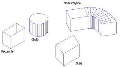 how to create a midpoint polyline cad