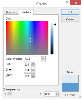copying colors from a website