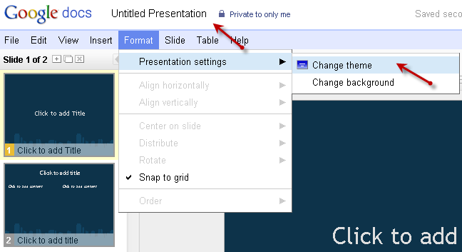 free powerpoint alternatives google docs