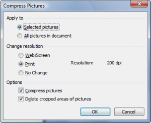 Managing Graphics to Reduce Size