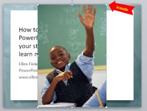How to resize and crop pictures in PowerPoint