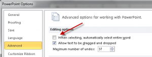 3 changes you should make in the Options dialog box of PowerPoint