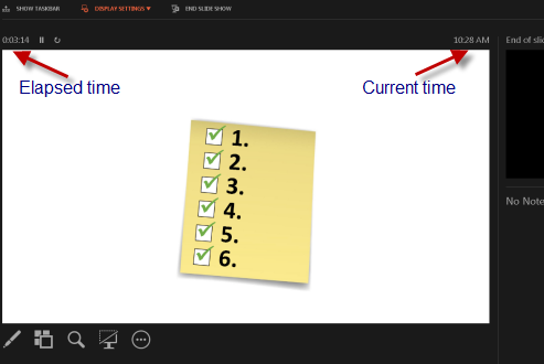 powerpoint-tips-show-the-current-time-slide-2