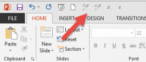 Save PowerPoint customizations for the Quick Access Toolbar and ribbon