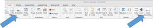 Create a screenshot and screen recording in PowerPoint