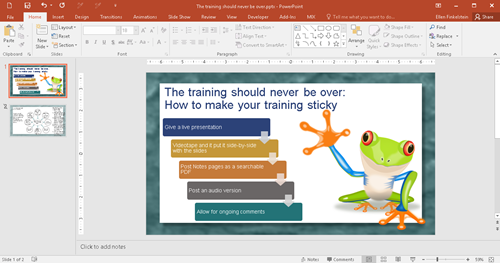 What About PowerPoint 2016 Windows