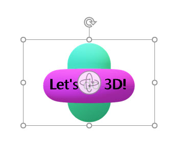 How to insert 3D into PowerPoint